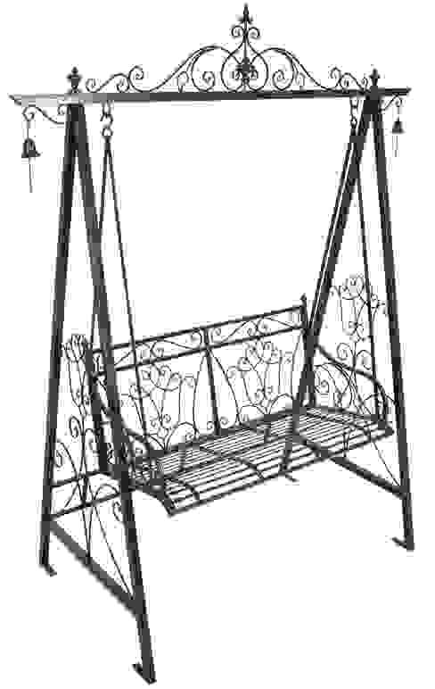 Garden Pleasure Metallschaukel von homify Klassisch