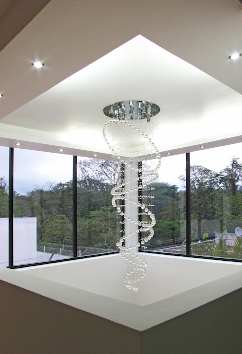 Vista desde el Interior, Detalle de iluminación y plafón Livings modernos: Ideas, imágenes y decoración de homify Moderno
