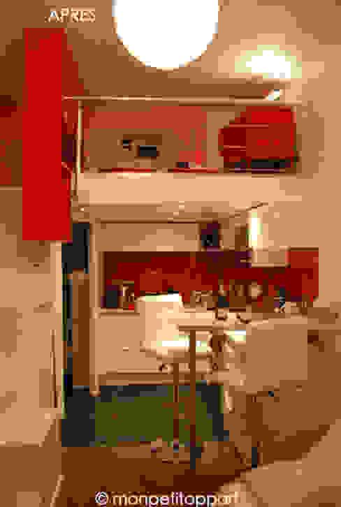 Après : La Mezzanine + La Pièce Principale par monpetitappart Moderne