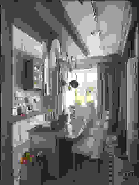 Квартира в Санкт-Петербурге Кухня в колониальном стиле от ToTaste.studio Колониальный