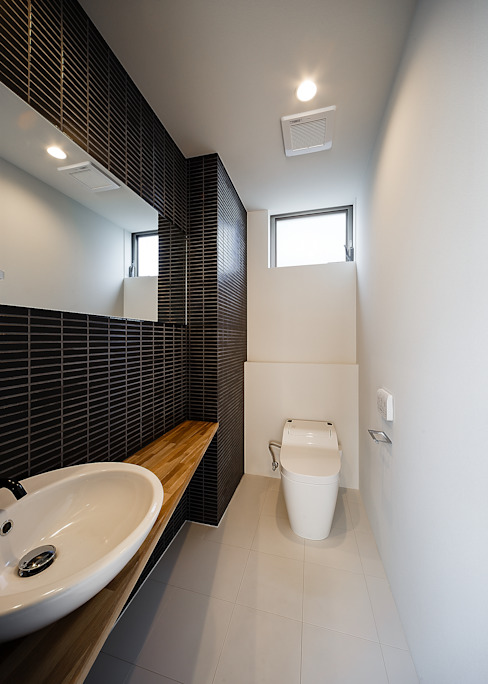一級建築士事務所haus Scandinavian style bathroom