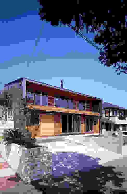 โดย HAN環境・建築設計事務所 ผสมผสาน ไม้ Wood effect