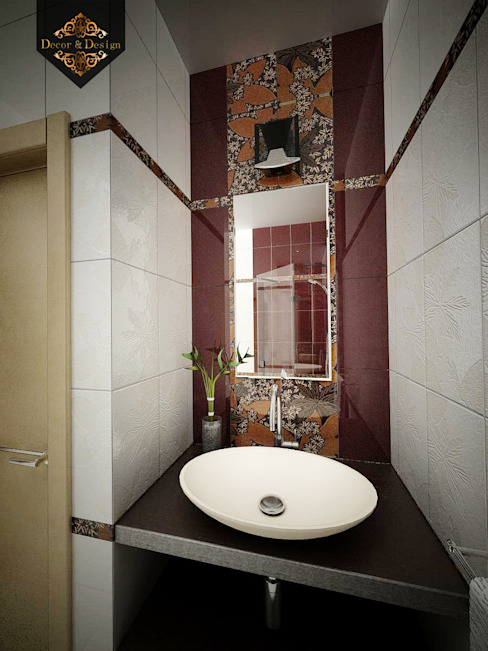 Eclectic style bathroom by Decor&Design Eclectic