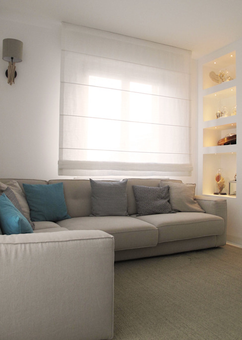 casa Fiori Mediterranean style living room by Studio Matteoni Mediterranean