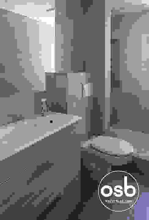 Baño 01 Baños de estilo moderno de osb arquitectos Moderno