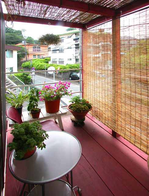 Jardines de estilo  por ユミラ建築設計室