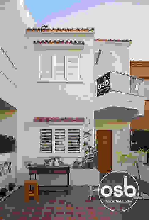 Casas mediterrânicas por osb arquitectos Mediterrânico