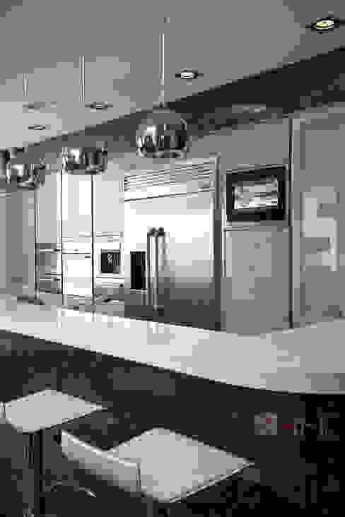 Комфортный Умный Дом Кухня в стиле модерн от Art-In Модерн