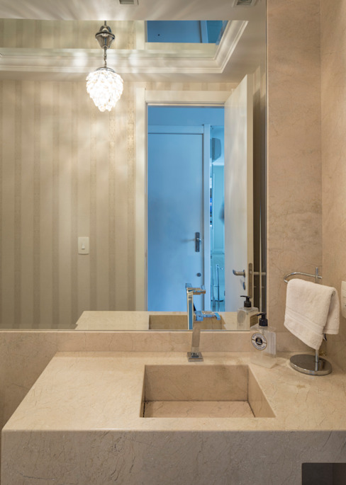 NRT | Lavabo Banheiros modernos por Kali Arquitetura Moderno