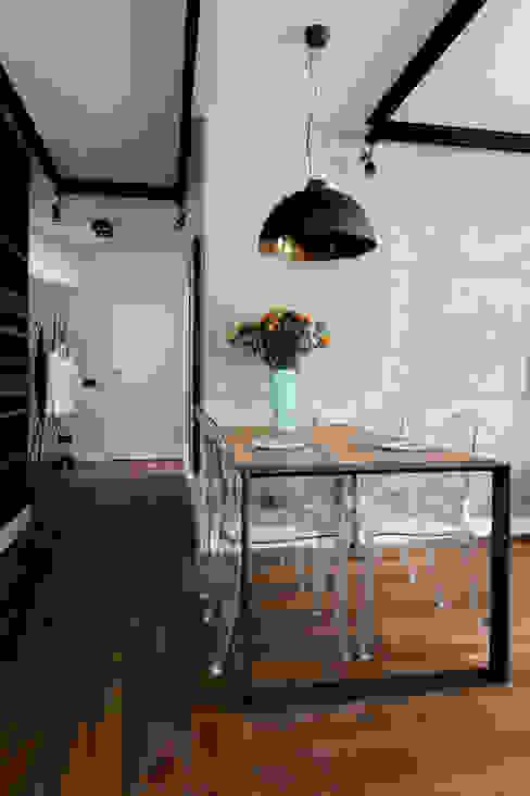 Mieszkanie na Bemowie: styl , w kategorii Jadalnia zaprojektowany przez Jacek Tryc-wnętrza,Nowoczesny