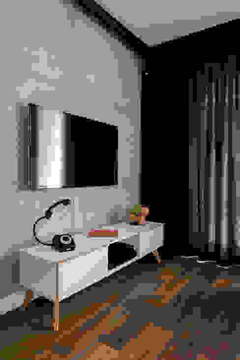 Jacek Tryc-wnętrza Moderne Wohnzimmer