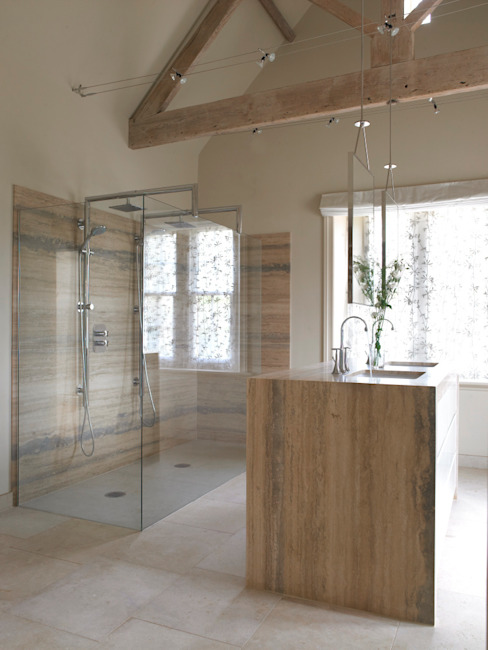 Bathroom, Manor Farm, Oxfordshire Modern bathroom by Concept Interior Design & Decoration Ltd Modern