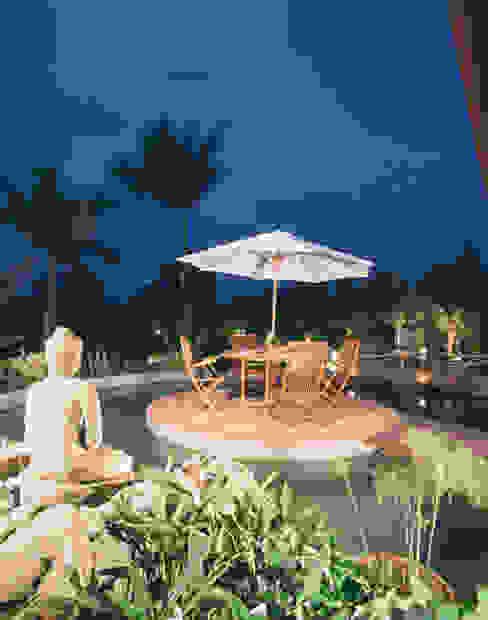 Jardines de estilo  por Eduardo Luppi Paisagismo Ltda., Asiático