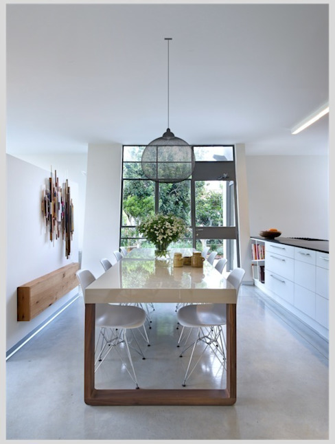 Casa Neuman Cocinas de estilo moderno de Capital Conceptual Moderno