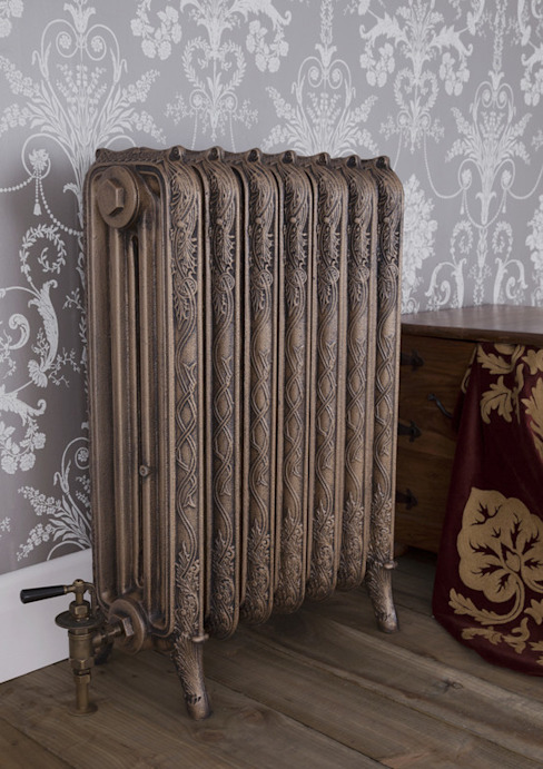 The Ribbon 4 Column Cast Iron Radiator available at UKAA di UKAA | UK Architectural Antiques Classico