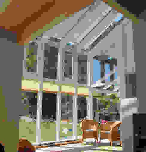 Modern style conservatory by Dammann-Haus GmbH Modern