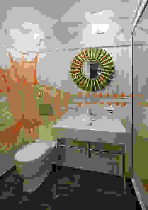 Eclectische badkamers van Abwarten! Eclectisch