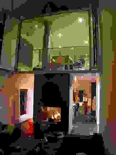 [GAA] GUENIN Atelier d'Architectures SA 모던스타일 거실