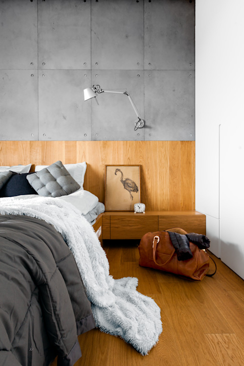 Modern style bedroom by Contractors Modern Concrete