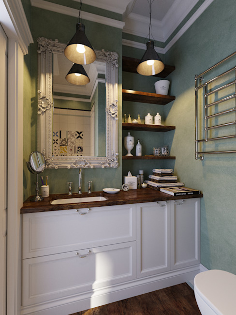 Industrial style bathroom by Aiya Design Industrial