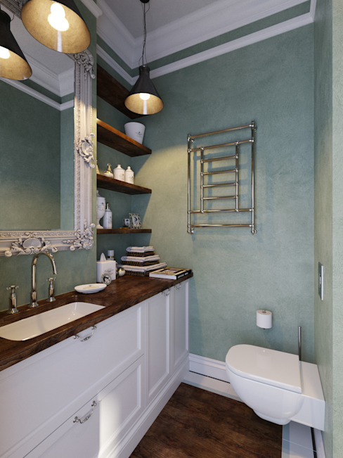 Bathroom by Aiya Design, Industrial