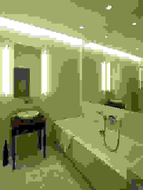 WILANÓW X APARTAMENT 170m2 Eklektyczna łazienka od homify Eklektyczny