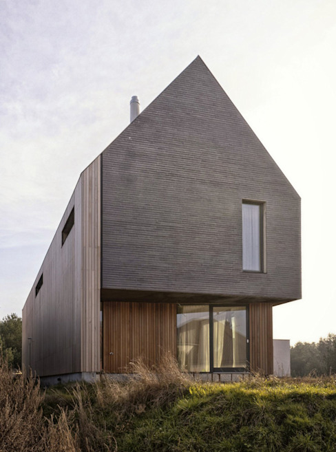 Minimalist houses by PRACOWNIA 111 Minimalist
