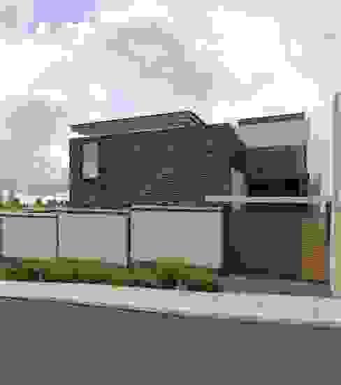 Casa EF: Casas de estilo  por Taller Habitat Arquitectos, Moderno