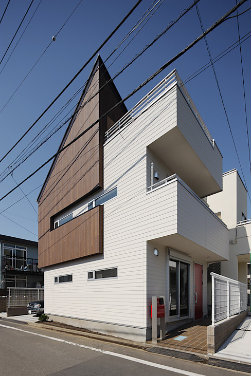 有限会社タクト設計事務所 에클레틱 주택