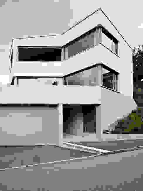 Ansicht Südwest Moderne Häuser von idA buehrer wuest architekten sia ag Modern