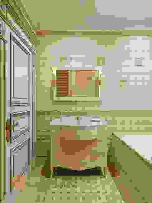Ванная комната Ванная в классическом стиле от Студия Павла Полынова Классический