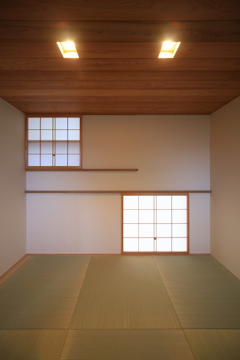 中二階の和室(Core) モダンデザインの 多目的室 の MA設計室 モダン