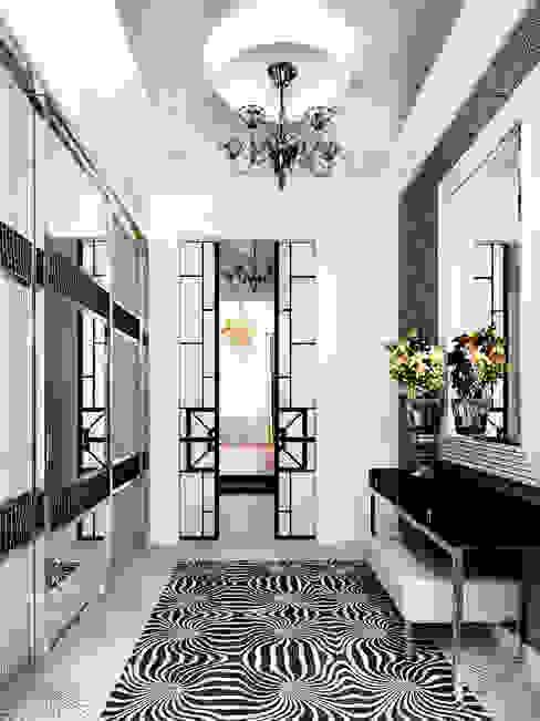 Квартира Коридор, прихожая и лестница в классическом стиле от ID ARCHITECTS Классический