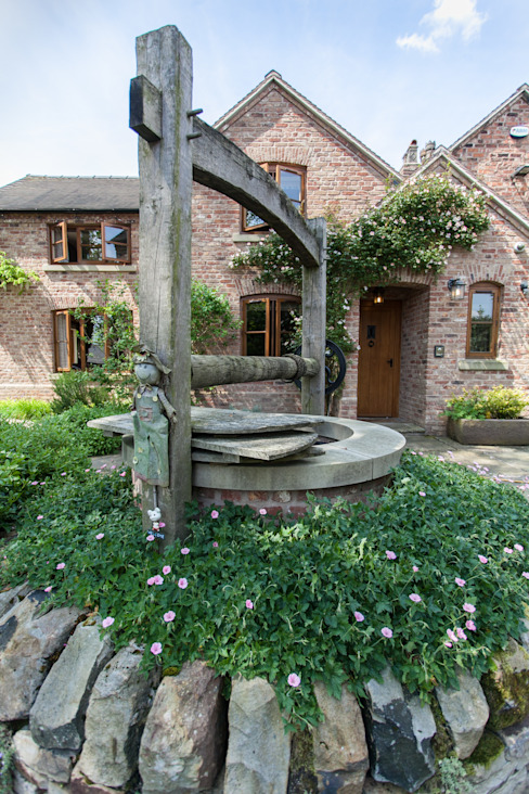 Well Rustic style garden by Barnes Walker Ltd Rustic