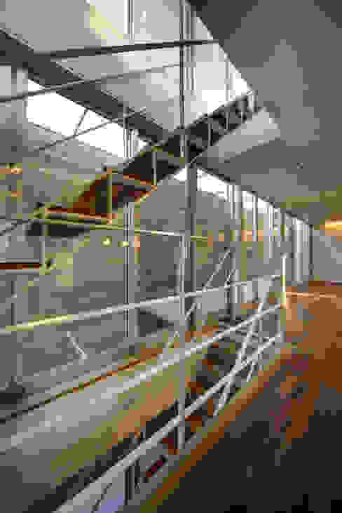 光庭の家 モダンスタイルの 玄関&廊下&階段 の 株式会社FAR EAST [ファーイースト] モダン