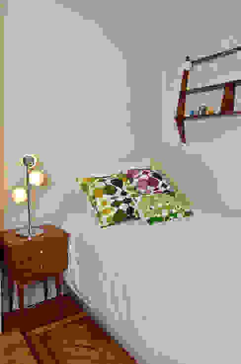 Departamento en Recoleta I: Dormitorios de estilo  por GUTMAN+LEHRER ARQUITECTAS,Moderno