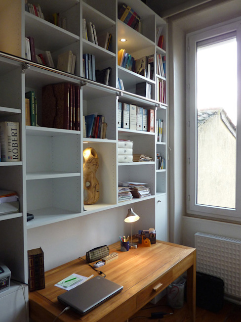 Study/office by homify, Modern