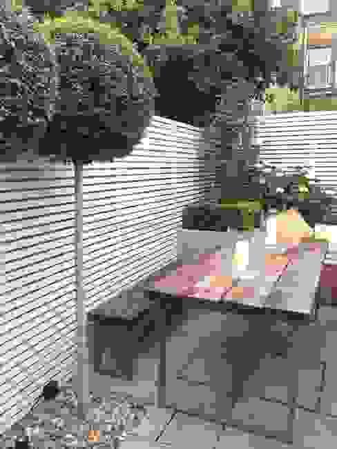 Slim & Subtle Rear Garden Modern Bahçe homify Modern
