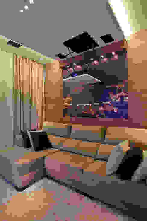Ruang Media Modern Oleh Arquiteto Aquiles Nícolas Kílaris Modern