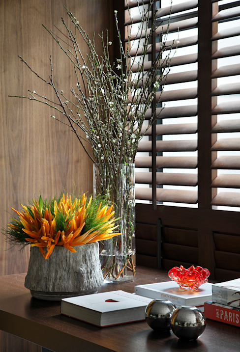 Yamagata Arquitetura Living roomAccessories & decoration