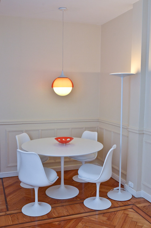 Dining room by GUTMAN+LEHRER ARQUITECTAS,