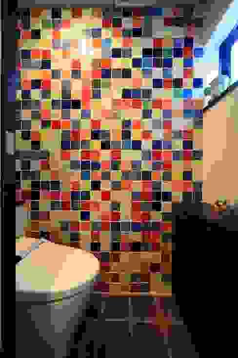 オリジナルタイル オリジナルスタイルの お風呂 の MA設計室 オリジナル