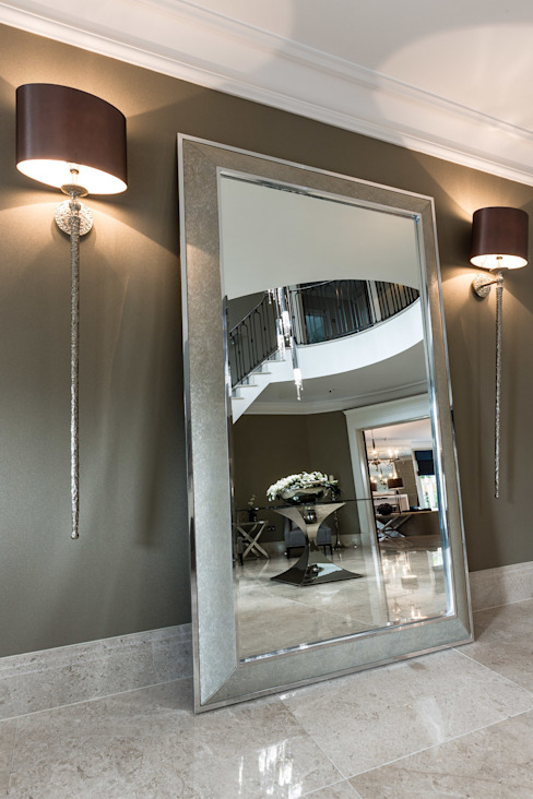 Hallway with Mirror Classic style corridor, hallway and stairs by Luke Cartledge Photography Classic