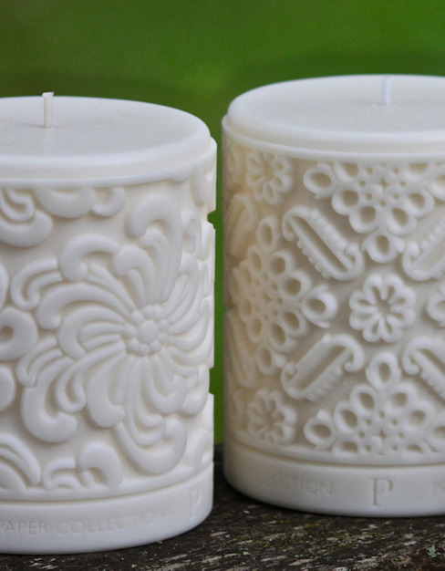 Luxury fragranced rapeseed wax candles. de Parable Designs Ltd Clásico