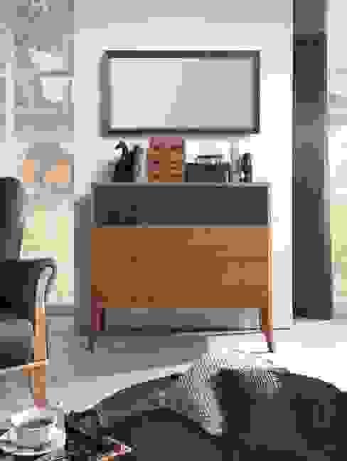 Chest of drawers Dream oak amber de Swarzędz Home Clásico