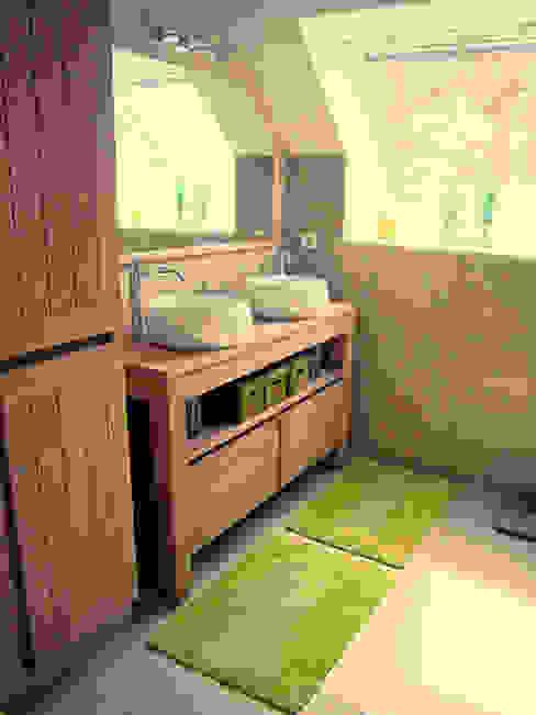 Baom 1 Salle de bain rustique par BAOM Rustique