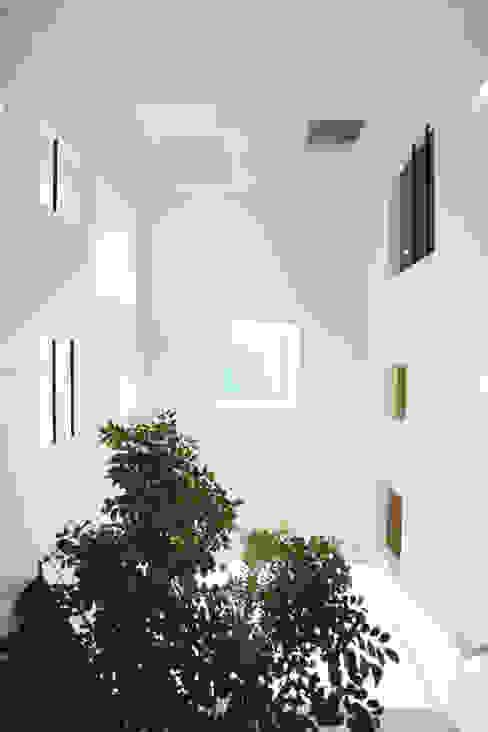 各居室と開口で繋がる吹抜け空間: スターディ・スタイル一級建築士事務所が手掛けた窓です。,モダン