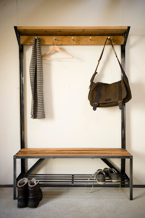 Coat Rack Bench de One Off Oak Limited Clásico