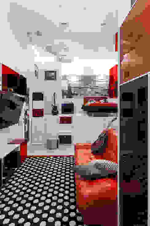Комната подростка Детская комнатa в стиле минимализм от Интерьеры от Марии Абрамовой Минимализм