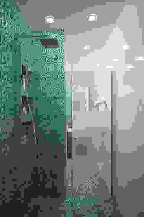Из однушки - двушка Ванная комната в стиле модерн от Гурьянова Наталья Модерн